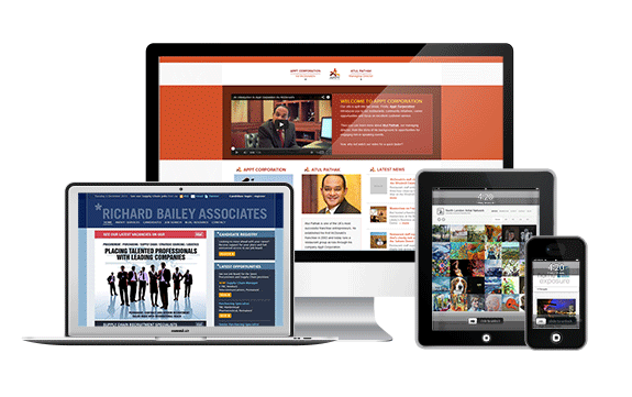 All our web designs are fully responsive, automatically adapting to each visitor's device screen