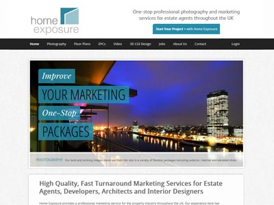 The Home Exposure website