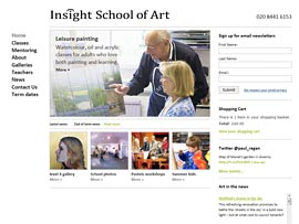 The Insight School of Art website