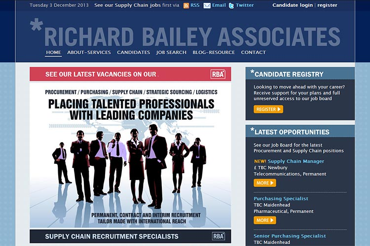 Richard Bailey Associates website (opens in new window)