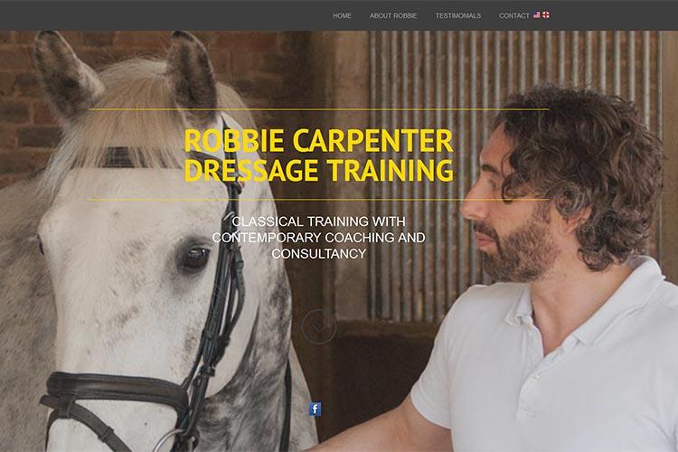 Robbie Carpenter website (opens in new window)