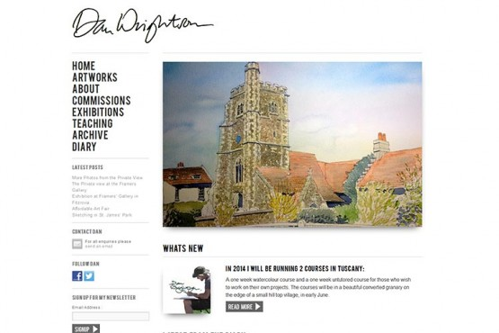 Dan Wrightson website (opens in new window)