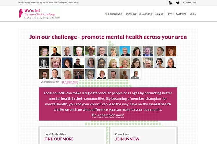 Mental Health Challenge website (opens in new window)
