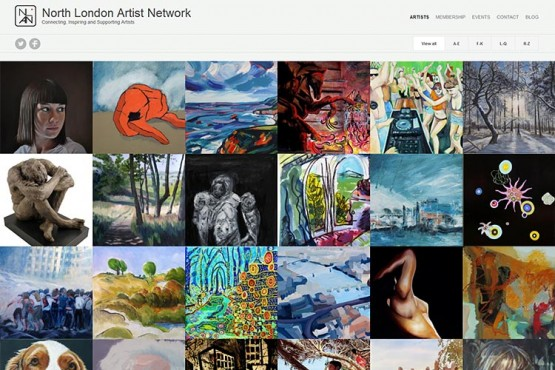 North London Artist Network website (opens in new window)