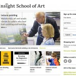 Insight school of Art website