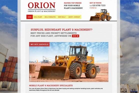 Orion Forklift and Plant website (opens in new window)