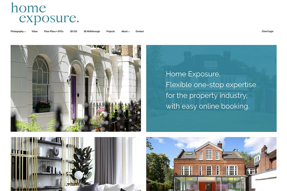 Home Exposure website