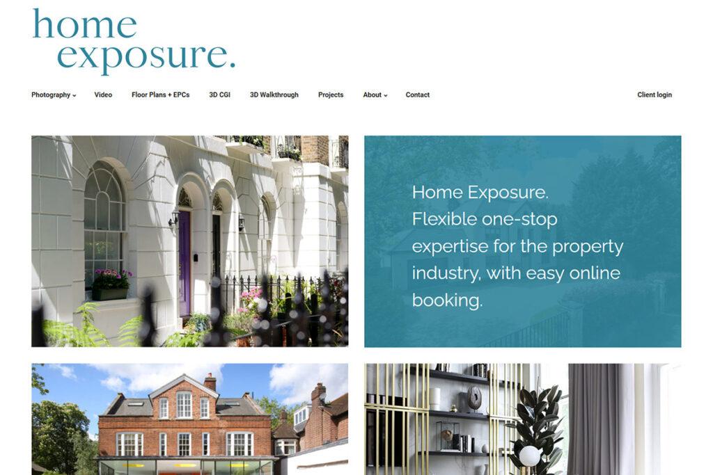 Home Exposure website