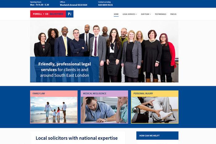 Powell & Co. website