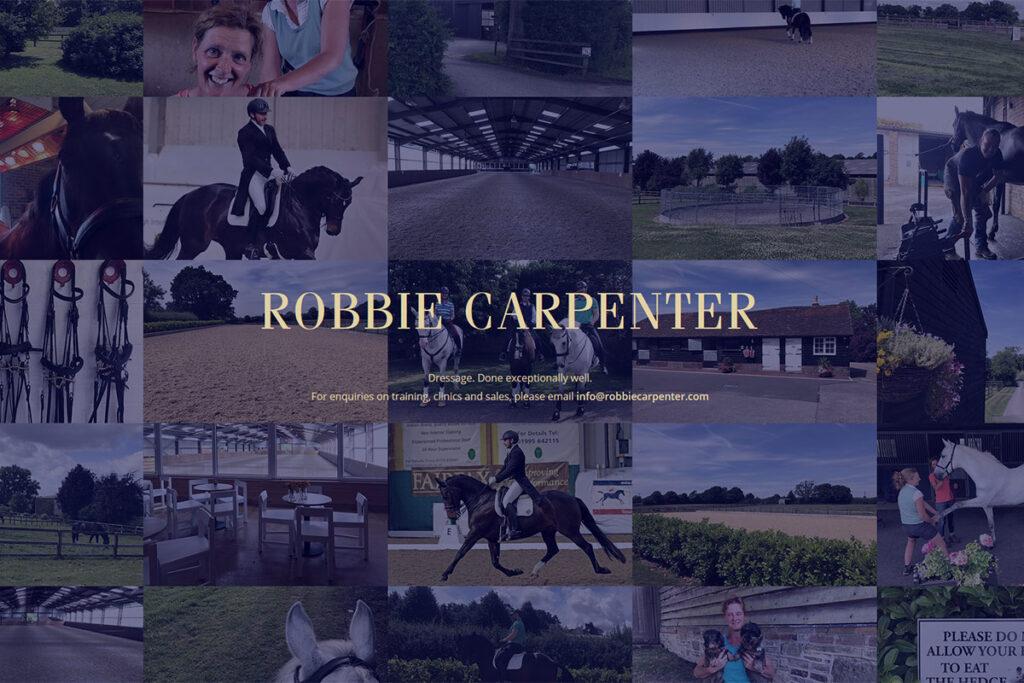 Robbie Carpenter website