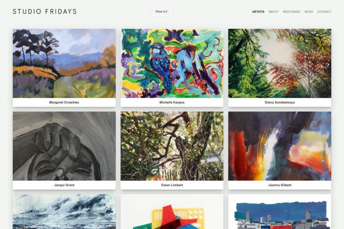 Studio Fridays website